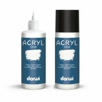 darwi  Acrylfarbe opak 80 ml - Farbauswahl 010 weiß