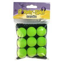 Plopper Ersatzbälle grün, 9 Stück