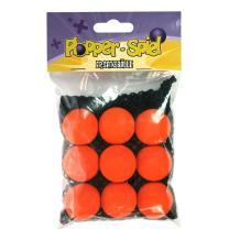 Plopper Ersatzbälle orange, 9 Stück