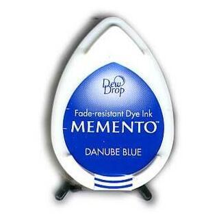 Tsukineko Stempelkissen Dew Drop Memento (MD-600) Danube Blue