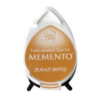 Tsukineko Stempelkissen Dew Drop Memento (MD-802) Peanut Brittle