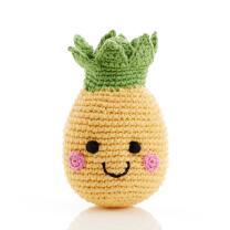 Freundliches Obst Ananas Rassel - gehäkelt aus...