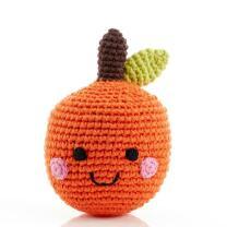 Freundliches Obst Orange Rassel - gehäkelt aus...