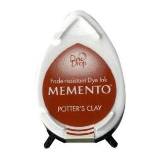 Tsukineko Stempelkissen Dew Drop Memento (MD-801) Potters Clay