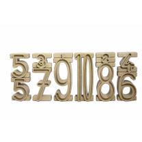 RE-Wood® Stapelzahlen - 100er Zahlenraum
