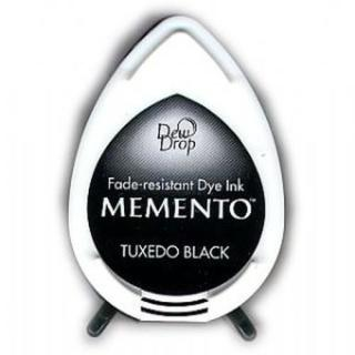 Tsukineko Stempelkissen Dew Drop Memento (MD-900) Tuxedo Black