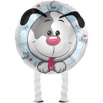 Folienballon Ballonwalker® Hund Jolly Dog  43 cm