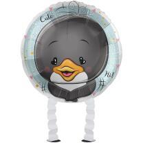 Folienballon Ballonwalker® Pinguin 43 cm