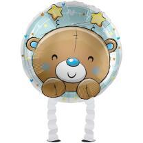 Folienballon Ballonwalker®  Hello Baby Boy  43 cm