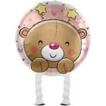 Folienballon Ballonwalker®  Hello Baby Girl  43 cm