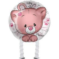 Folienballon Ballonwalker®  Katze Kitty Cat  43 cm