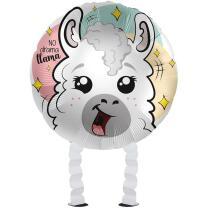 Folienballon Ballonwalker®  Crazy Lama  43 cm
