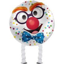 Folienballon Ballonwalker®  Happy Clown  43 cm