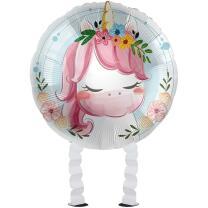 Folienballon Ballonwalker®  Einhorn - Cute Unicorn...