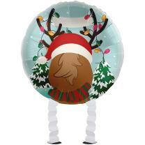 Folienballon Ballonwalker®  Rentier - Christmas...