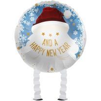Folienballon Ballonwalker®  Weihnachtsmann - Santa...