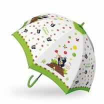 Der kleine Maulwurf  - Regenschirm grün