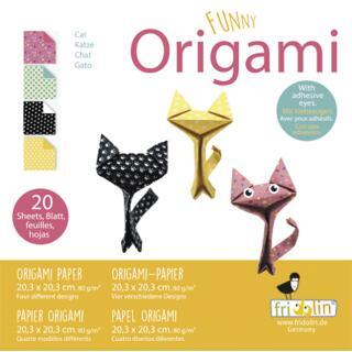 Funny Origami - Katzen groß