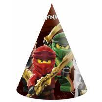 Lego Ninjago - Partyhütchen, 6 Stück
