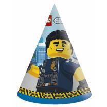 Lego City - Partyhütchen, 6 Stück