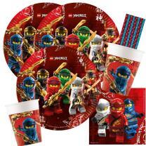59-teiliges Party-Set Lego Ninjago - Teller Becher...