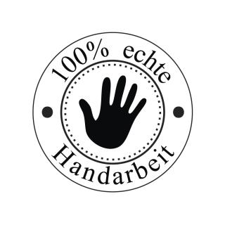 Butterer Holzstempel rund 3 cm - 100% echte Handarbeit (856)