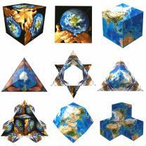 "GeoBender® Cube ""World"""