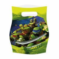 Ninja Turtles TMNT Partytüten, 6 Stück