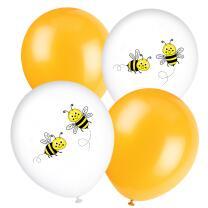 Luftballons Freche Bienen, 8 Stück