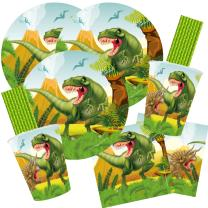 68-teiliges Party-Set Dinosaurier - riesiger Dino -...