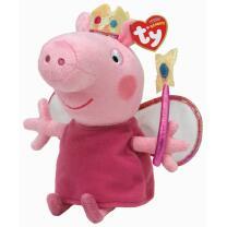 TY Beanie Babies 46129  - Prinzessin Peppa Pig  15 cm
