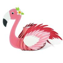 Ursus Laternen - Bastelset Flamingo