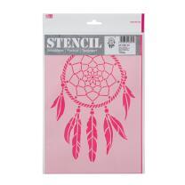 Schablone / Stencil DIN A4 - Traumfänger