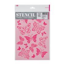Schablone / Stencil DIN A4 - Schmetterlinge