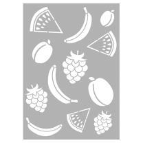 Schablone / Stencil DIN A4 - Obst