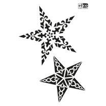Schablone / Stencil DIN A4 - Sterne