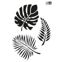 Schablone / Stencil DIN A4 - Blätter