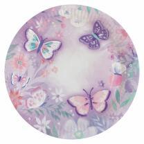 40-teiliges Party-Set Schmetterling - Flutter - Teller...