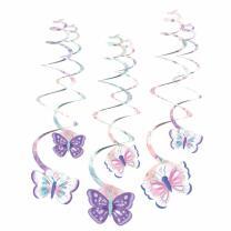 Schmetterling - Flutter -  6 Deko-Spiralen