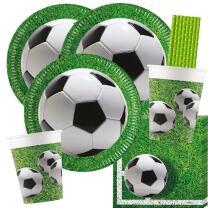 44-teiliges Party-Set Fußball Party - Teller...