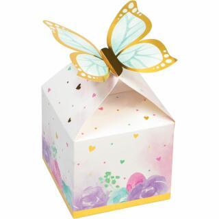 Schmetterling - Geschenkboxen, 8 Stück