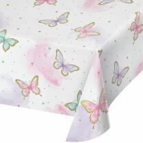 Schmetterling - Tischdecke aus Papier