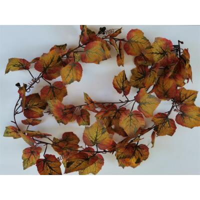 Blättergirlande mit Beeren ca. 1,4 m
