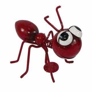 Ameise rot mit Magnet 7 x 7,5 x 8,5 cm
