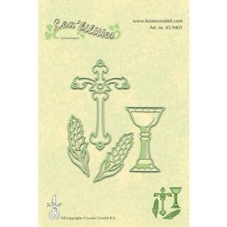 Leane Creatief Leabilities Stanzschablone - Besondere Anlässe 1 - special occasion 1 (45.9401)