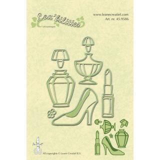 Leane Creatief Leabilities Stanzschablone - Mädchen Dinge - ladies things (45.9586)