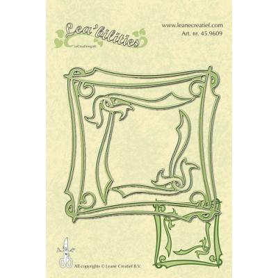 Leane Creatief Leabilities Stanzschablone - Rahmen elegant - frame elegant (45.9609)