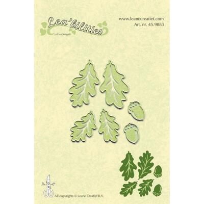 Leane Creatief Leabilities Stanzschablone - Herbstblätter - autumn leaves (45.9883)