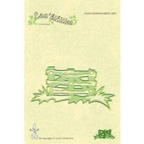 Leane Creatief Leabilities Stanzschablone - Gartenzaun -...
