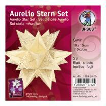 Ursus Aurelio Stern Set Faltblätter 10 x 10 cm -...